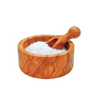 Berard Olive Wood Mini Salt Bowl