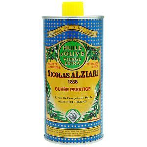 Nicolas Alziari Cuvee Prestige Extra Virgin Olive Oil Tin