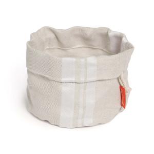 Jean Vier St Jean Bread Basket White & Beige