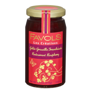 Favols Redcurrant Raspberry Jam