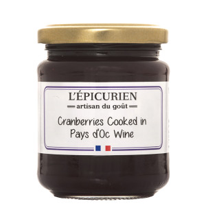 L'Epicurien Cranberries in Wine