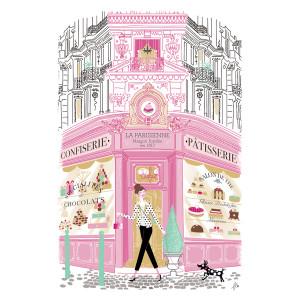 Torchons & Bouchons Tea Towel Pastry Shop