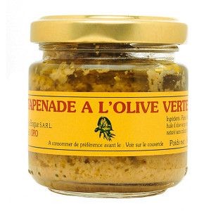 Moulins de la Brague Green Olive Tapenade