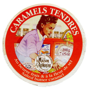 La Maison d'Armorine Salted Butter Caramels in Yvonne Box
