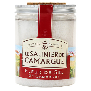 Camargue Fleur de Sel in Clear Plastic