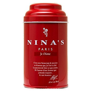 Nina's Paris Je T'aime Loose Leaf Tea Gift Tin