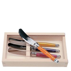 Jean Dubost 4 Multi-Color Spreaders in Box