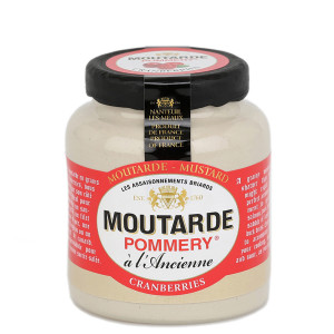 Pommery Cranberry Mustard - Small Stone Jar
