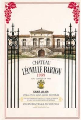 Torchons & Bouchons Tea Towel Leoville Barton