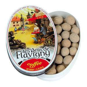 Les Anis de Flavigny All Natural Coffee Flavored Mints