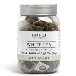 Happy-Lab White Delight Tea Sachets