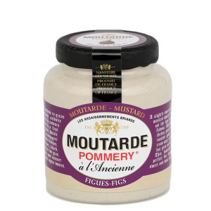 Pommery Fig Mustard - Small Stone Jar