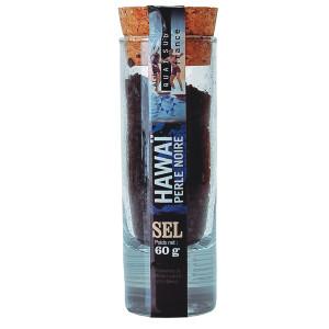 Quai Sud Hawaiian Black Salt in Shot Glass