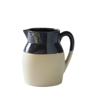 Manufacture de Digoin Small 0.25L Jug Navy blue