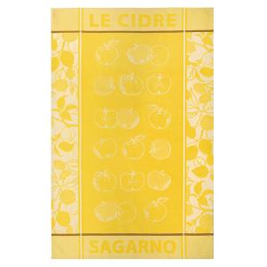 Jean Vier Arnaga Tea Towel with Apple Cider Design