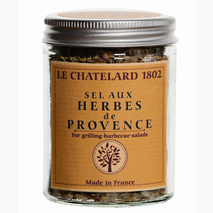 Le Chatelard Salt with Herbs de Provence in Jar
