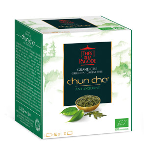 Thes de la Pagode Organic Chun Cha (Antioxidant)