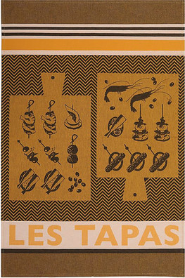 Jean Vier Arnaga Tea Towel Pintxos/Tapas