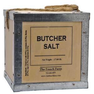 French Farm Collection Butcher Salt Box