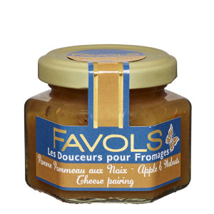 Favols Apple with Walnut Jam for Cheese