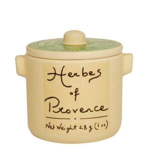 Aux Anysetiers du Roy Herbs de Provence in Ceramic Jar