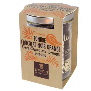 Bovetti Dark Chocolate Fondue with Orange