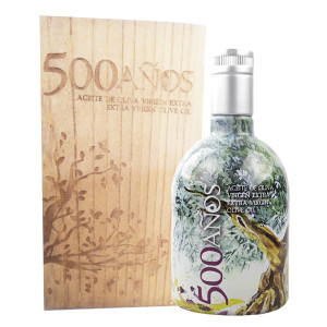 Balcon del Sur 500 Years Extra Virgin Olive Oil in Wood Gift Box