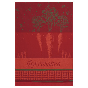 Coucke Carrots Tea Towel