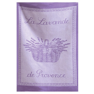Coucke Lavender Tea Towel