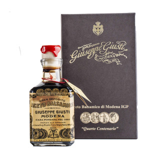 "Giuseppe Giusti 4 Gold Medals ""Quarto Centenario"" Cube with Box Balsamic Vinegar de Modena"