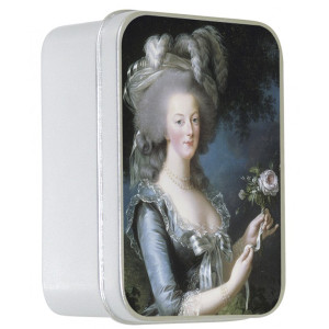 Savon Le Blanc Rose Soap in Marie Antoinette Tin