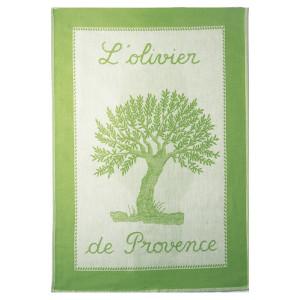 Coucke L'Olivier de Provence/Olive Tree Tea Towel