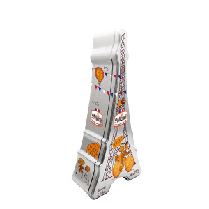 St Michel Eiffel Tower Galette Tin