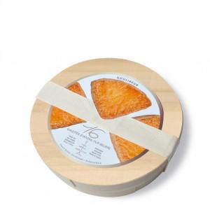 Goulibeur Fan Shaped Shortbread in Wood Box