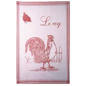 Coucke Le Coq/Rooster Tea Towel