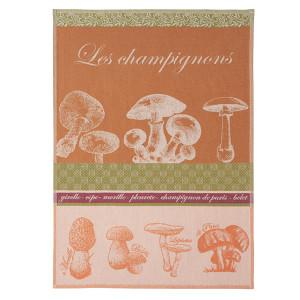Coucke Les Champignons/Mushrooms Tea Towel