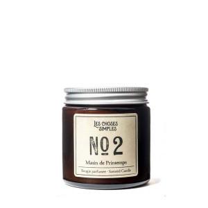 """Les Choses Simples Mini Candle No. 2 """"Matin de Printemps"""" (Linen)"""