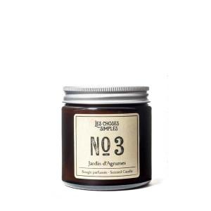 """Les Choses Simples Mini Candle No. 3 """"Jardin d'Agrumes"""" (Citrus)"""