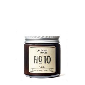 Les Choses Simples Mini Candle No. 10 (Cedar)