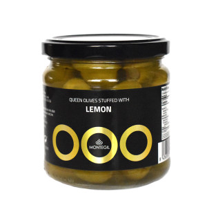 Montegil Gordal Olives Stuffed with Lemon