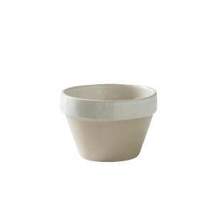 White Conic Bowl