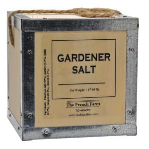 French Farm Collection Gardener Salt Box