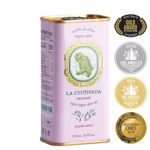 La Cultivada Organic Hojiblanca Extra Virgin Olive Oil