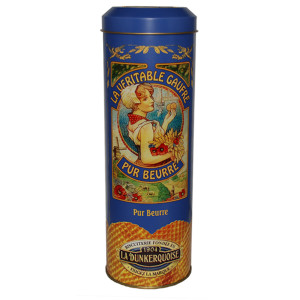 Biscuiterie Dunkerquoise Pure Butter Waffles in Tin
