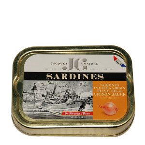 Gonidec Sardines in Extra Virgin Olive Oil with Onion
