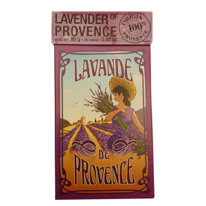 L'Ami Provencal Lavender Flowers in Gift Box