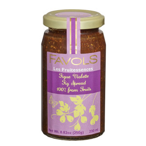 Favols Black Fig Fruit Spread