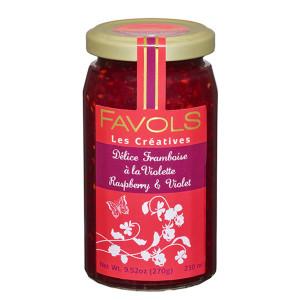 Favols Raspberry Jam with Violet
