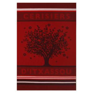 Jean Vier Arnaga Tea Towel with Cherry Tree Tea Towel