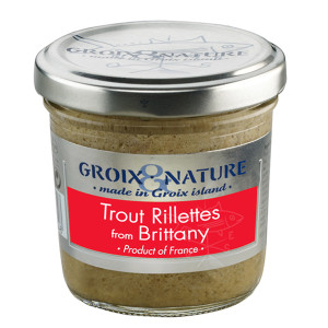 Groix et Nature Trout Rillettes from Brittany